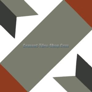 Gạch bông – Encaustic cement tile – CTS-12.2
