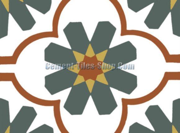 Gạch bông – Encaustic cement tile – CTS-16.5