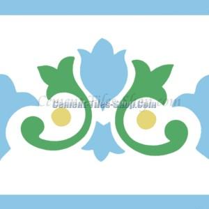 Gạch bông – Encaustic cement tile – CTS-115-B