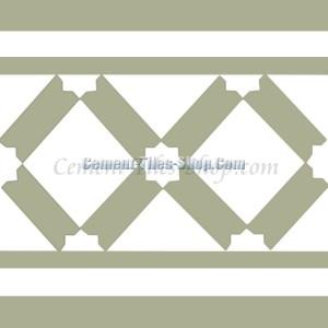 Gạch bông – Encaustic cement tile – CTS-114-B