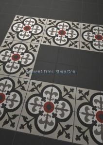 Gạch bông – Encaustic cement tile – CTS-307